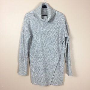 Banana Republic Rib knit turtleneck sweater tunic